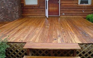 deck restoration Smith Mountain Lake