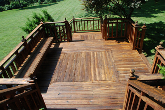 Anderson Deck Restoration Log Home Restoration Anderson, SC