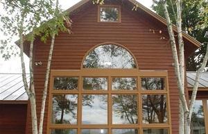log home restoration asheville