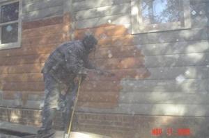 log home restoration Murphy