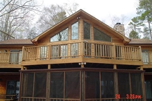 log home restoration Waynesville