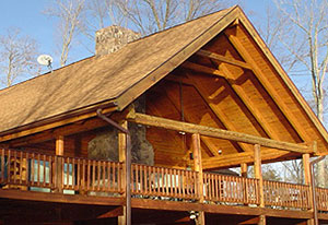 log home maintenance Murphy